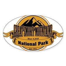 great smokey mountains 4 Decal