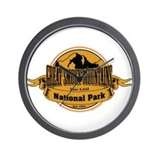 great smokey mountains 3 Wall Clock