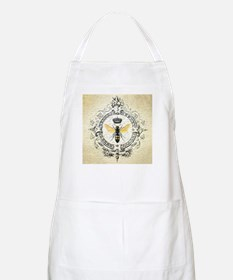 Vintage French Queen Bee Apron