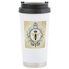 Vintage French Queen Bee Travel Mug