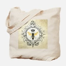 Vintage French Queen Bee Tote Bag