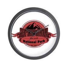 great smokey mountains 4 Wall Clock
