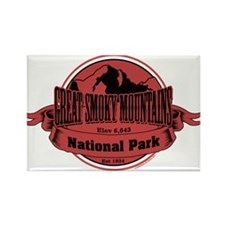 great smokey mountains 3 Rectangle Magnet