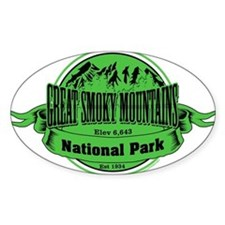 great smokey mountains 2 Decal