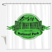 great smokey mountains 2 Shower Curtain