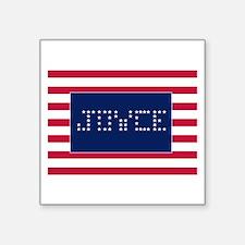 "JOYCE Square Sticker 3"" x 3"""