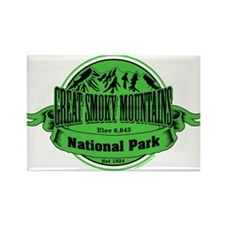 great smokey mountains 1 Rectangle Magnet