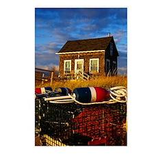 Lobstermens Shack Postcards (Package of 8)