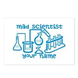Mad scientist Postcards