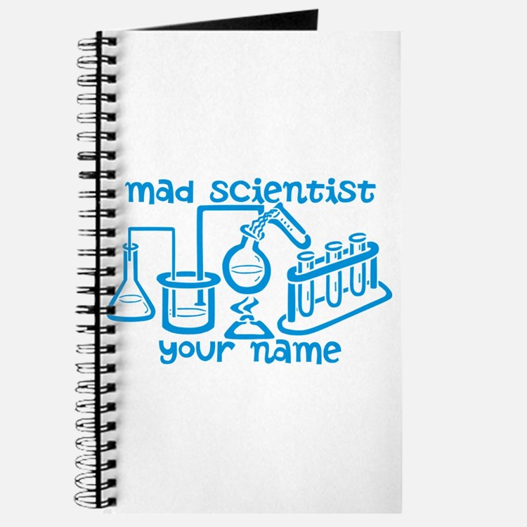 Personalized Mad Scientist Journal