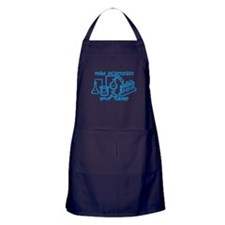Personalized Mad Scientist Apron (dark)