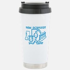 Personalized Mad Scientist Travel Mug
