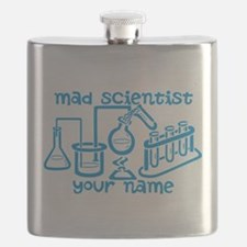 Personalized Mad Scientist Flask