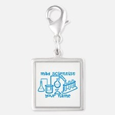 Personalized Mad Scientist Charms