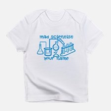 Personalized Mad Scientist Infant T-Shirt
