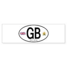 gb-oval-7 Bumper Bumper Sticker