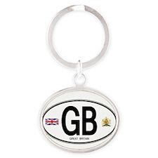 gb-oval-7 Keychains