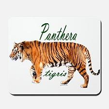Walking tiger Mousepad