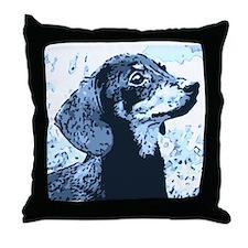 dachshund style Throw Pillow