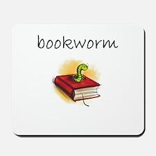 bookworm 2 Mousepad