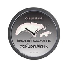 Some Like it Cooled Off Wall Clock