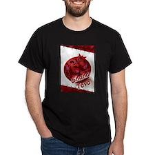 Pomegranate Rosh Hasana – Shana Tova T-Shirt