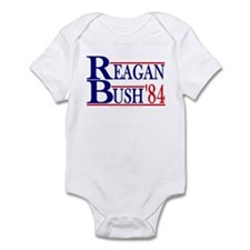 Reagan Bush 1984 Infant Bodysuit