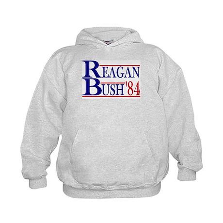 Reagan Bush 1984 Kids Hoodie