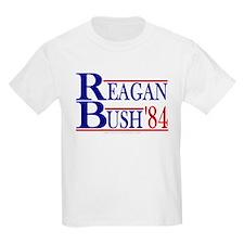 Reagan Bush 1984 Kids T-Shirt