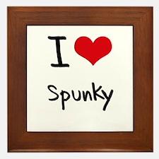 I love Spunky Framed Tile