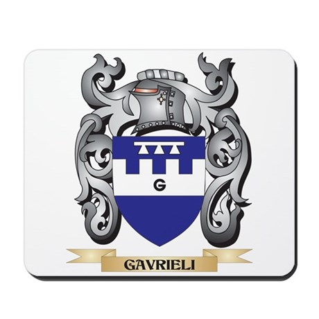 Gavrieli Coat of Arms - Family Crest Mousepad