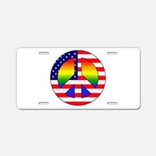 Gay Patriot Aluminum License Plate