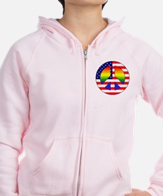 Gay Patriot Zip Hoodie
