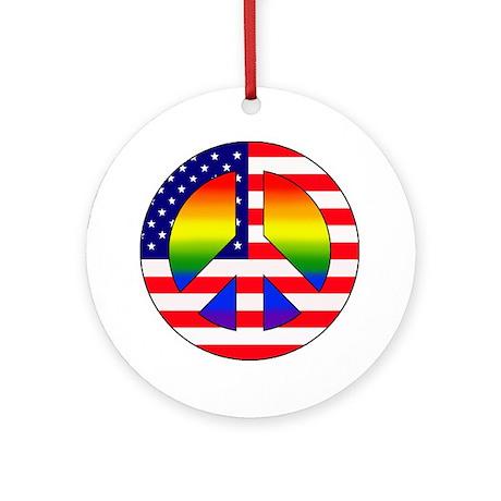 Gay Patriot Ornament (Round)