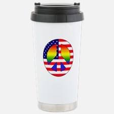 Gay Patriot Stainless Steel Travel Mug