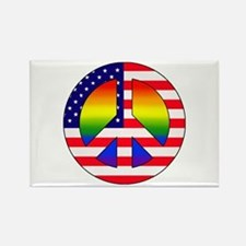Gay Patriot Rectangle Magnet (10 pack)