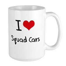 I love Squad Cars Mug