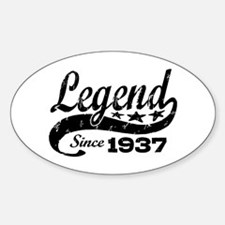 Legend Since 1937 Decal