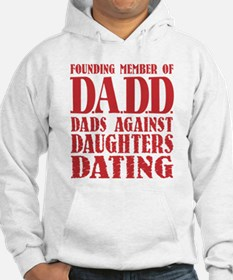 DADD Dads Against Daughters Dating (Blk) Hoodie