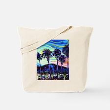 Palm Springs Night Tote Bag