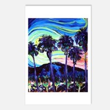 Palm Springs Night Postcards (Package of 8)