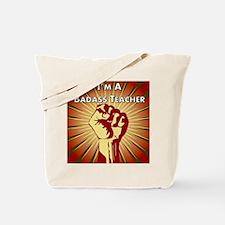 BadAss Teacher Association Tote Bag