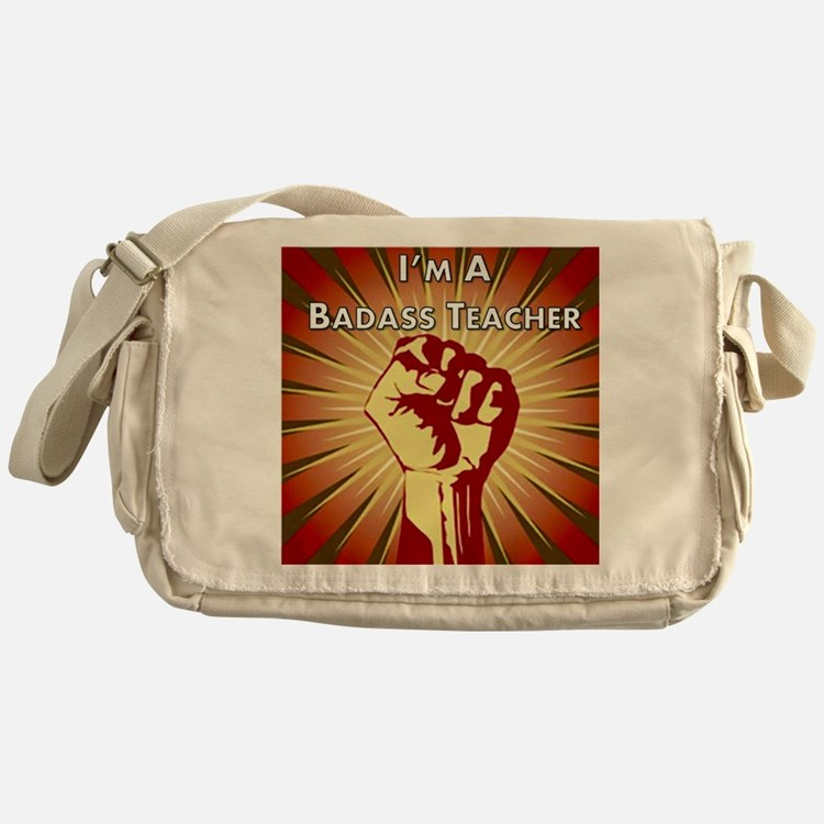 BadAss Teacher Association Messenger Bag