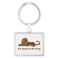 Good to Be King Landscape Keychain