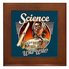 SCIENCE: Your Brain Framed Tile