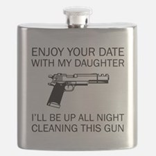 Cleaning This Gun Flask