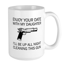 Cleaning This Gun Mug