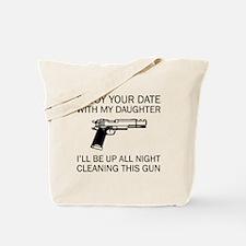 Cleaning This Gun Tote Bag