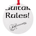 Guitar Rules Ornament