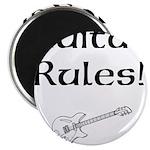 Guitar Rules Magnet